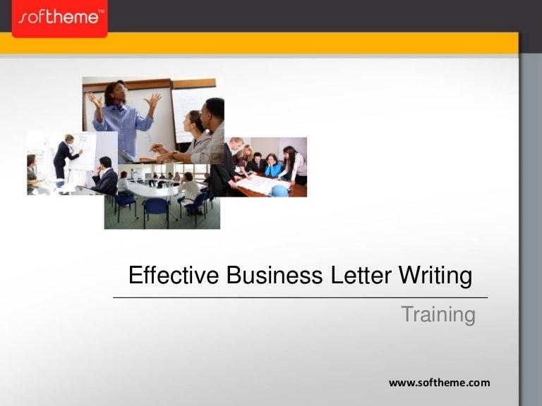 business writing skills presentation ppt slides