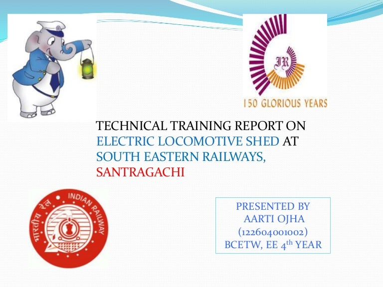 Training Report Of Electric Loco Shed