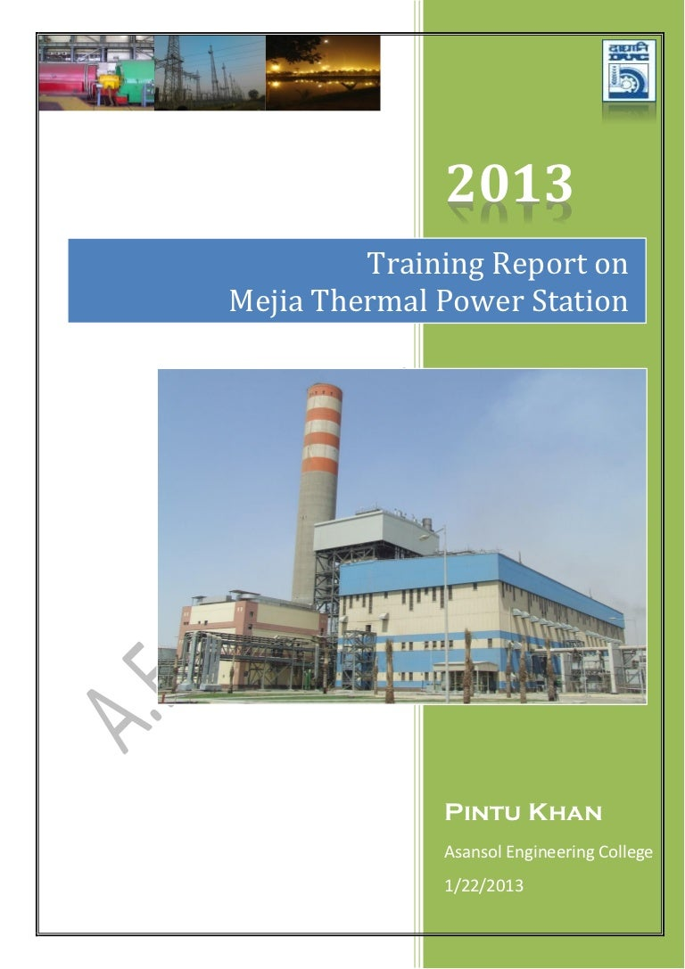 Training Report – Training Report