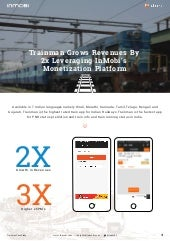 Trainman Grows Revenues by 2x Leveraging InMobi's Monetization Platform