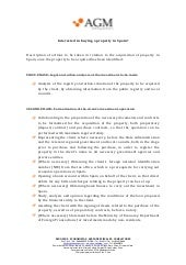 Actions to be taken in relation to the acquisition of property in Spain, once the property to be acquired has been identified