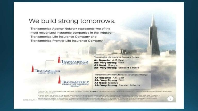 Transamerica Life Insurance, Monumental Life Insurance