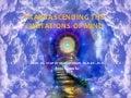 Transascending the mind