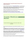 Transfer Membrane Market | Increasing R&D Spending By Pharmaceutical and Biotechnology Companies