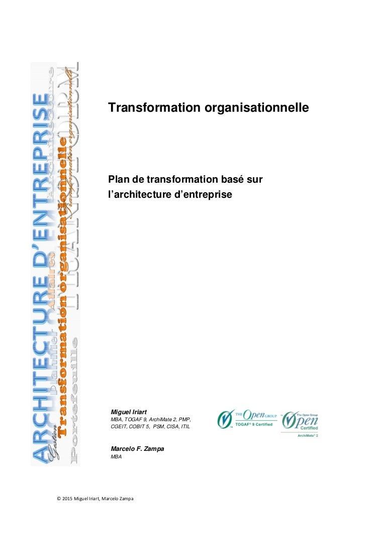 Transformation organisationnelle plan de transformation bas sur l xflitez Gallery