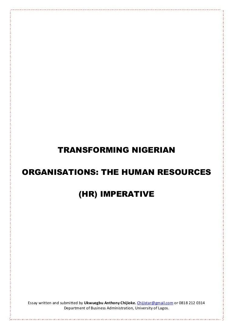 transforming ian organisations