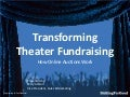 Transforming Theater Fundraising with BiddingForGood