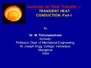 Transient heat-conduction-Part-I