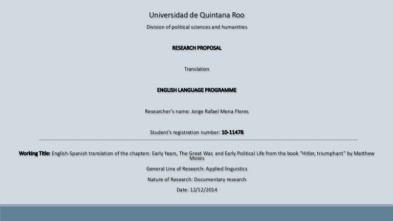 Dissertation Examples   Sample Thesis   Research Proposal Samples SAGE Research Methods   Sage Publications