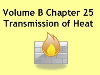 Transmission of heat (ppt)