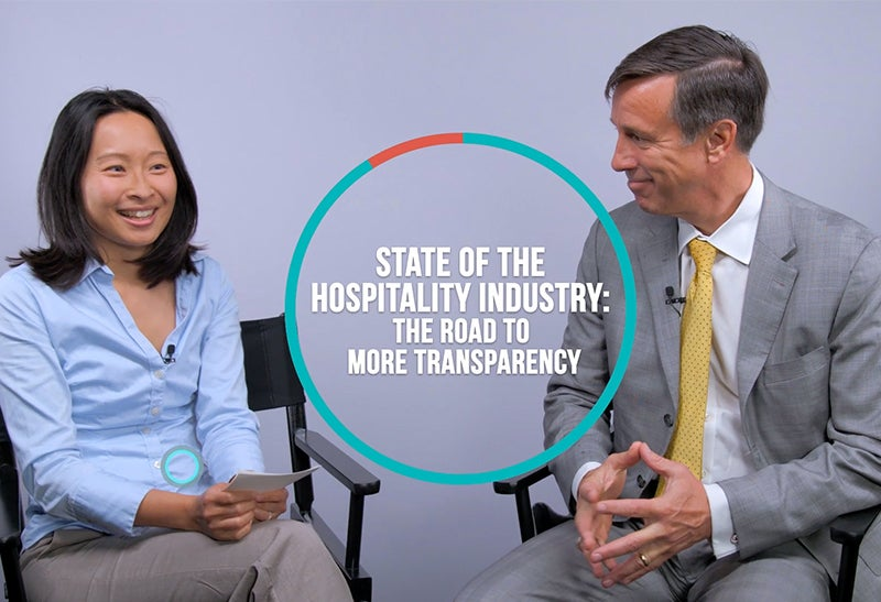 The State of the Hospitality Industry: Marriott CEO Arne Sorenson on Transparency