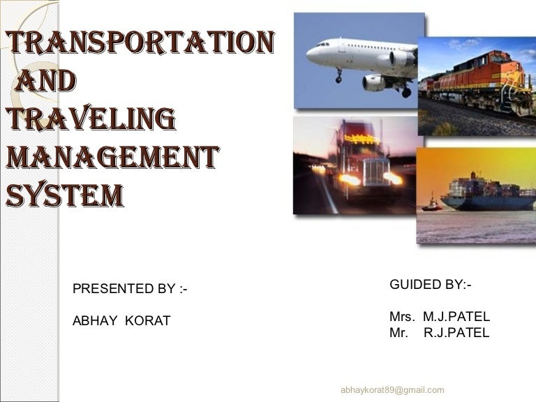 Transportation Management System