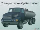 Transportation Optimization Software