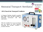 AVIA TransVent Transport Ventilator