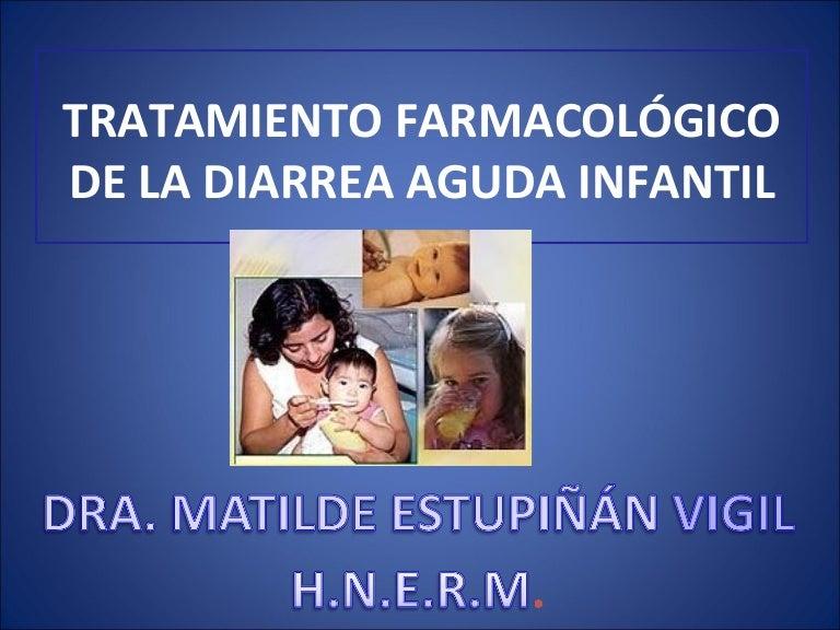 tratamiento contra la diarrea en adultos