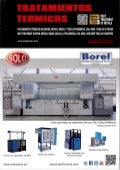 SOLO Swiss Group furnaces on cover of Spanish magazine Tratamientos Termicos. Edition No 163, October 2017