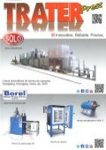 SOLO Swiss and Borel Swiss in cover of spanish magazine Trater Press