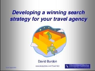 Travel Agent SEO 2012