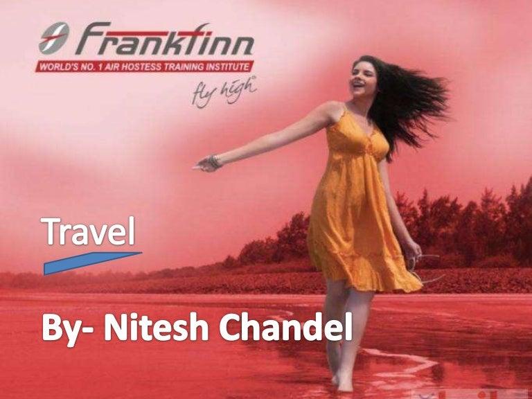 Travel ppt nitesh chandel f1 shimla