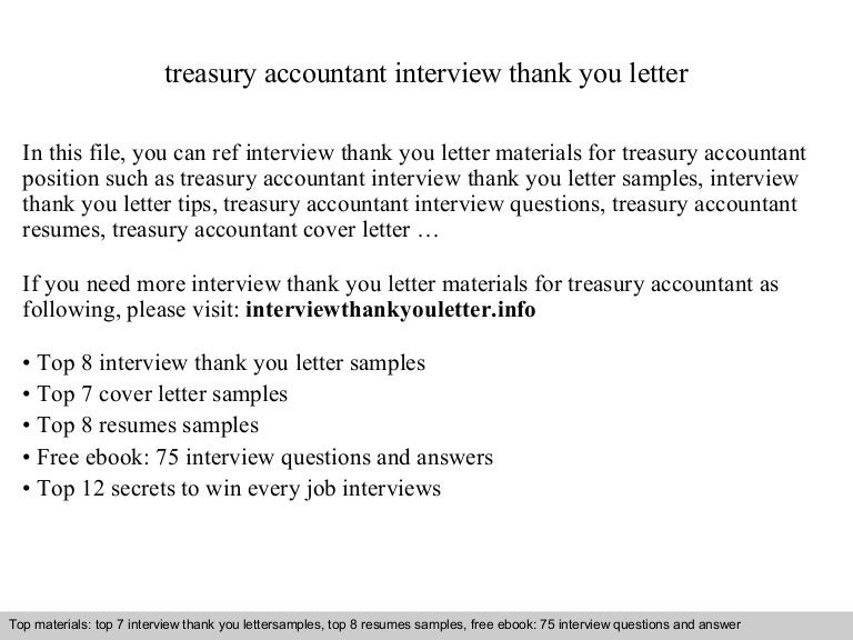 Treasury accountant