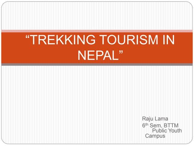 Trekking tourism in nepal and statistics