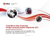 Trend micro data protection