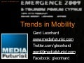 Trends In Mobility: Futurist Gerd Leonhard @ Cyprus Emergence 2009