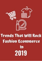 Trends that will rock fashion eCommerce in 2019 (eBook)