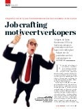 Job crafting motiveert verkopers