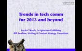 Trends in technical communication, 2013