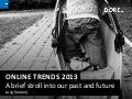 Trends 2013 Online