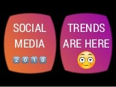 Social Media Trends 2018, 12+ notes from different sources.
