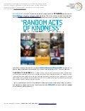RANDOM ACTS OF KINDNESS Trend Briefing - March 2011