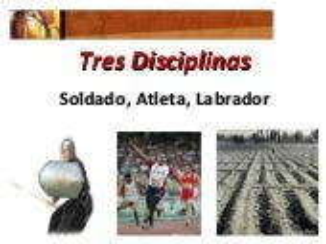 Tres Disciplinas