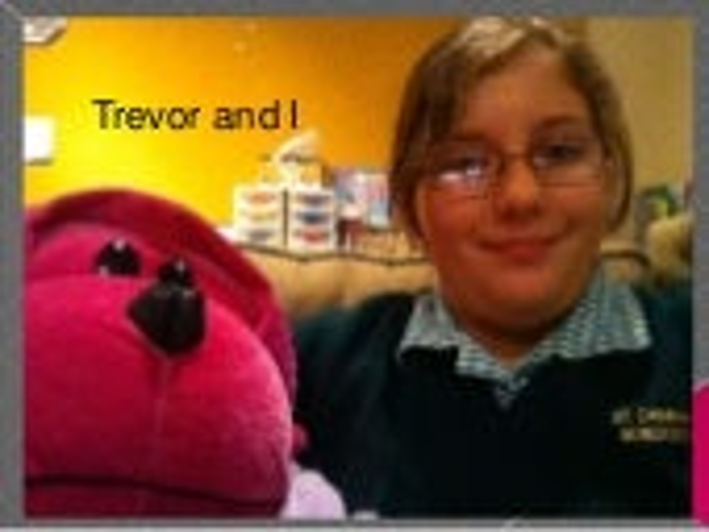 Trevor and i
