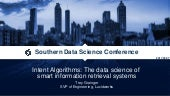 Intent Algorithms: The Data Science of Smart Information Retrieval Systems