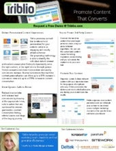 Triblio Overview: Content Marketing Software