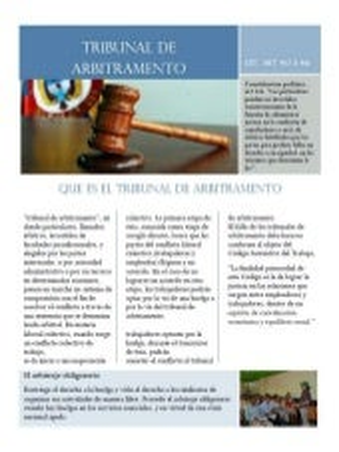 Tribunal de arbitramento