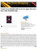 Trident case kraken ams series for apple i pad mini, pink (ams ipadmini-pnk)