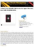 Trident case kraken ams series for apple i pad mini, red (ams ipadmini-red)