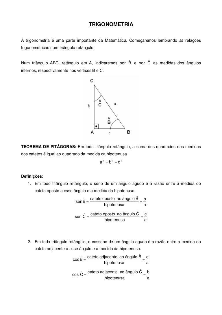Trigonometria básica