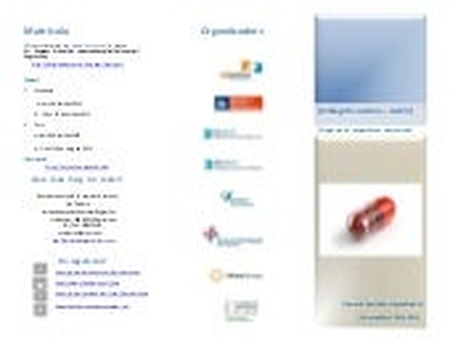 Tríptic informatiu: Curs sobre Bibliografia Sanitària - Nivell II.