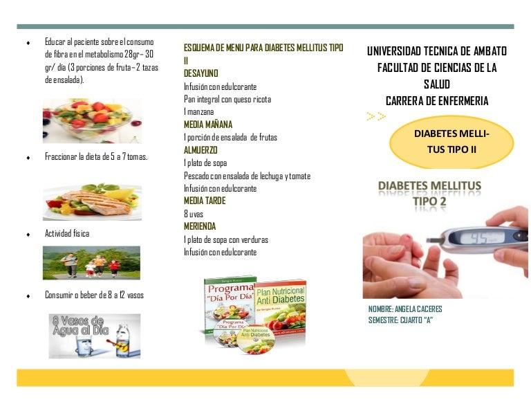 diabetes tipo 2 dieta desayuno