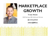 Marketplace Growth at Taiwan Startup Stadium by Tristan Pollock