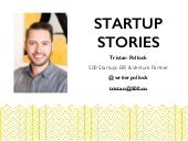 Startup Stories by Tristan Pollock