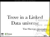 Trove in the Linked Data universe