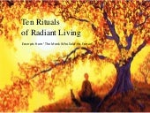 Ten Rituals of Radiant Living