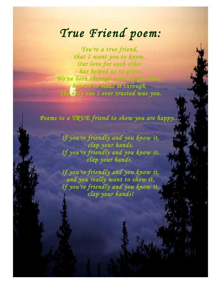 Teen Friendship Poems Written By Teens-4066