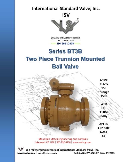 Trunnion Mount Ball Valves For Industrial Pipelines