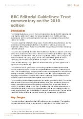 BBC Libro de Estilo 2010